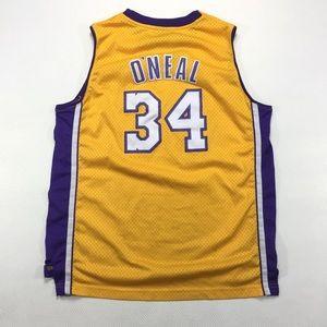 Vintage LA Lakers Shaq Swingman Jersey Youth XL
